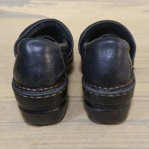 boc Shoes - BOC Born Black Leather Clogs